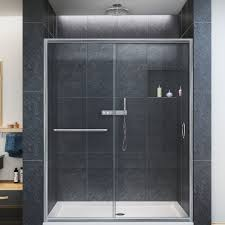 limescale on glass shower doors