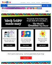 toys r us thanksgiving day sale 5 expert tips to set your black friday landing page apart