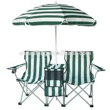 Double Seat Folding Chair Folding Double Seat Camping Chair With Umbrella Buy Folding