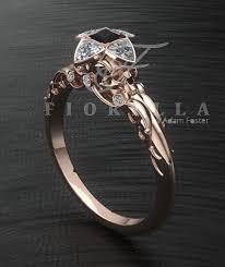 batman engagement rings 14k white gold handmade batman wedding ring horrific finds