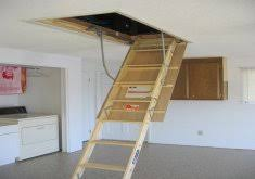 awesome fold down attic stairs top pull down attic ladder home