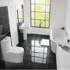 black u0026 white bathroom tiles ideas