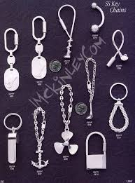 sterling key rings images Sterling silver key chains engraveable key chains engravable jpg