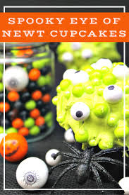 cute spooky halloween eyeball cupcakes kicking it with kelly