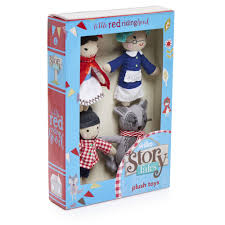 wilko story tales red riding hood plush toys wilko