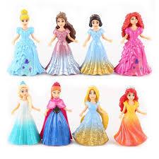 princess elsa anna aiel snow white aurora belle cinderella figures