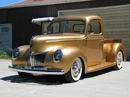 Old Ford Truck Doors - 1940 ford pickup of george poteet by fastlane rod shop front