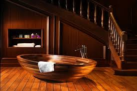 wooden bathtub wooden bathtubs for an exquisite interior