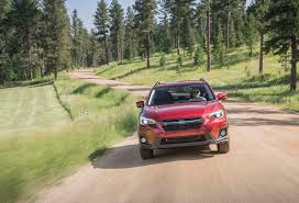 2017 subaru crosstrek green 2018 subaru crosstrek first drive review automobile magazine