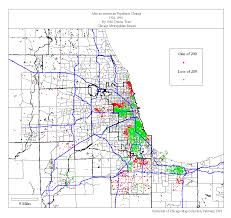 Map Of Chicago Suburbs Missing Title