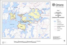 Walter Reed Map Lawrence Lake Conservation Reserve Management Statement Ontario Ca