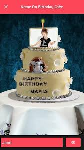 the birthday cake name photo on birthday cake android apps on play