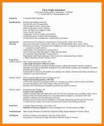 flight attendant resume template 7 entry level flight attendant resume letter signature
