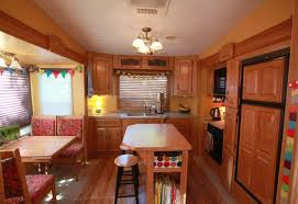 5th wheel with a front living room u2014 at hershey rv show rv u0027s