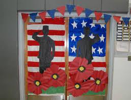 day door decorations 13 veterans day decorations ideas for school work office