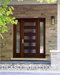 Wood Exterior Entry Doors Nicksbuilding Wood Doors Front Doors Exterior Doors Interior