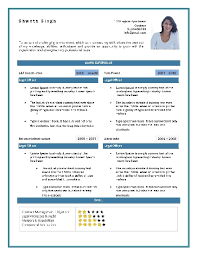 curriculum vitae format for freshers doc resume format sles download free professional resume format