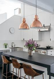Contemporary Pendant Lighting For Dining Room Best 25 Copper Pendant Lights Ideas On Pinterest Copper
