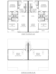 2 Bedroom 2 Bath Duplex Floor Plans by Houseplans Biz House Plan D1526 A Duplex 1526 A