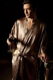 robe de chambre homme luxe peignoir satin homme lepeignoir fr