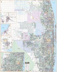 Palm Beach Map Us Wall Map 140 92 5 Laminated U2013 Kappa Map Group