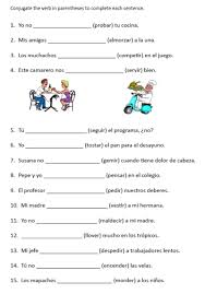 stem changing verbs in the present tense lessons tes teach