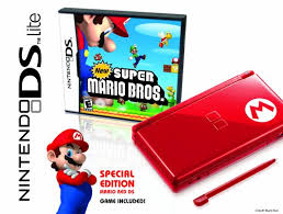 nintendo ds black friday nintendo ds lite limited edition red mario with new super mario
