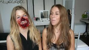 comment faire un maquillage de squelette video de maquillage pour halloween goshowmeenergy