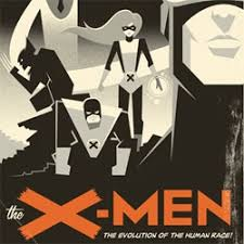 art deco style an awesome art deco style x men poster by eric tan 9637 notcot org