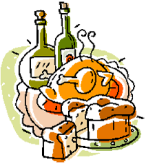 plate clipart thanksgiving dinner pencil and in color plate
