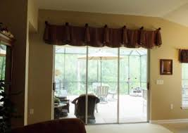 Curtain For Sliding Glass Doors Coffee Tables Patio Door Curtain Rods Without Center Bracket