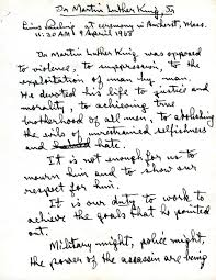 martin luther king jr writing paper martin luther king jr paulingblog page 1 dr martin luther king