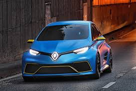 concept renault renault zoe r s electric hatch under consideration