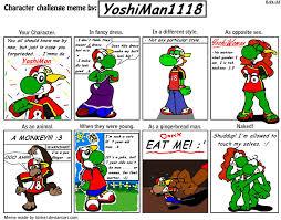 Naked Girl Meme - character challenge meme by yoshiman1118 on deviantart