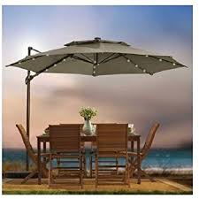 11 Foot Patio Umbrella Amazon Com Outdoor Patio Cantilever Umbrella 11 Foot Round