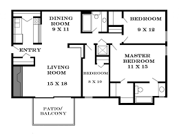 A Three Bedroom House Plan Bedroom Small 3 Bedroom House Home Plans With Loft U201a Small Two