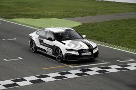 audi u0027s autonomous rs 7 car breaks self driving car record