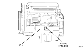 detroit diesel series 60 ecm wiring diagram on 1996 freightliner