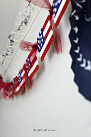 popsicle stick flag craft