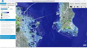Florida Sea Level Rise Map da quake pirate lab