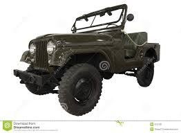 jeep army star vintage army jeep stock image image 9751931