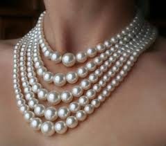 elegant pearl necklace images Online shop fashion multi layer pearl necklace gold chain elegant jpg
