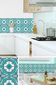 credence cuisine imitation 19 idées pour une crédence adhésive imitation carreaux de ciment
