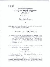 Counseling Code Of Ethics Philippines Ra10918 Pharmacy Pdf Pharmacy Prescription