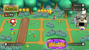 Paper Mario World Map by Category New Super Mario Bros Wii Worlds Mariowiki Fandom