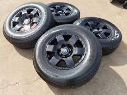 toyota tacoma rims and tires 17 toyota tacoma 4 runner oem black wheels rims tires 2013 2014