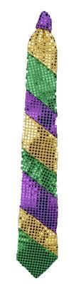 mardi gras ties festive mardi gras sequin loop spray 24 inch mardi gras