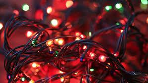 tangled christmas light bulbs stock footage video 13308995