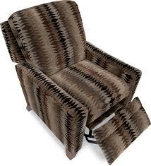 La Z Boy Duncan Reclining by Cabot Low Profile Recliner Brown U0027s Furniture Showplace