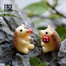 aliexpress buy resin animal hedgehog ornaments garden